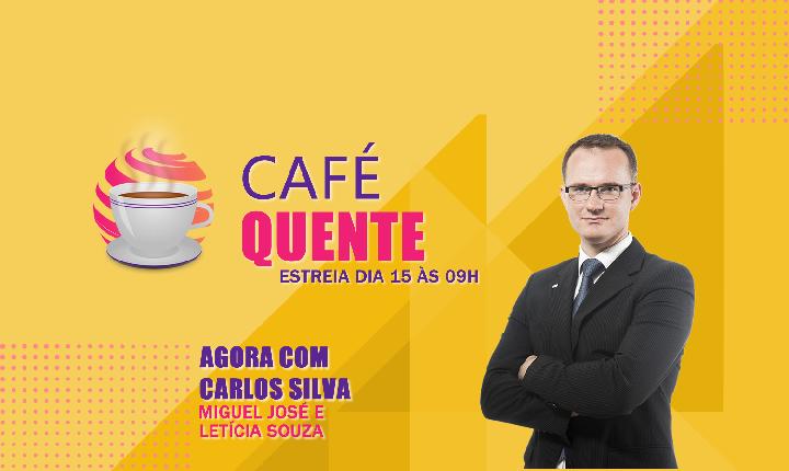 #CafeQuente no programa de hoje Carlos Silva entrevista o Secretário da cultura Milton Costa